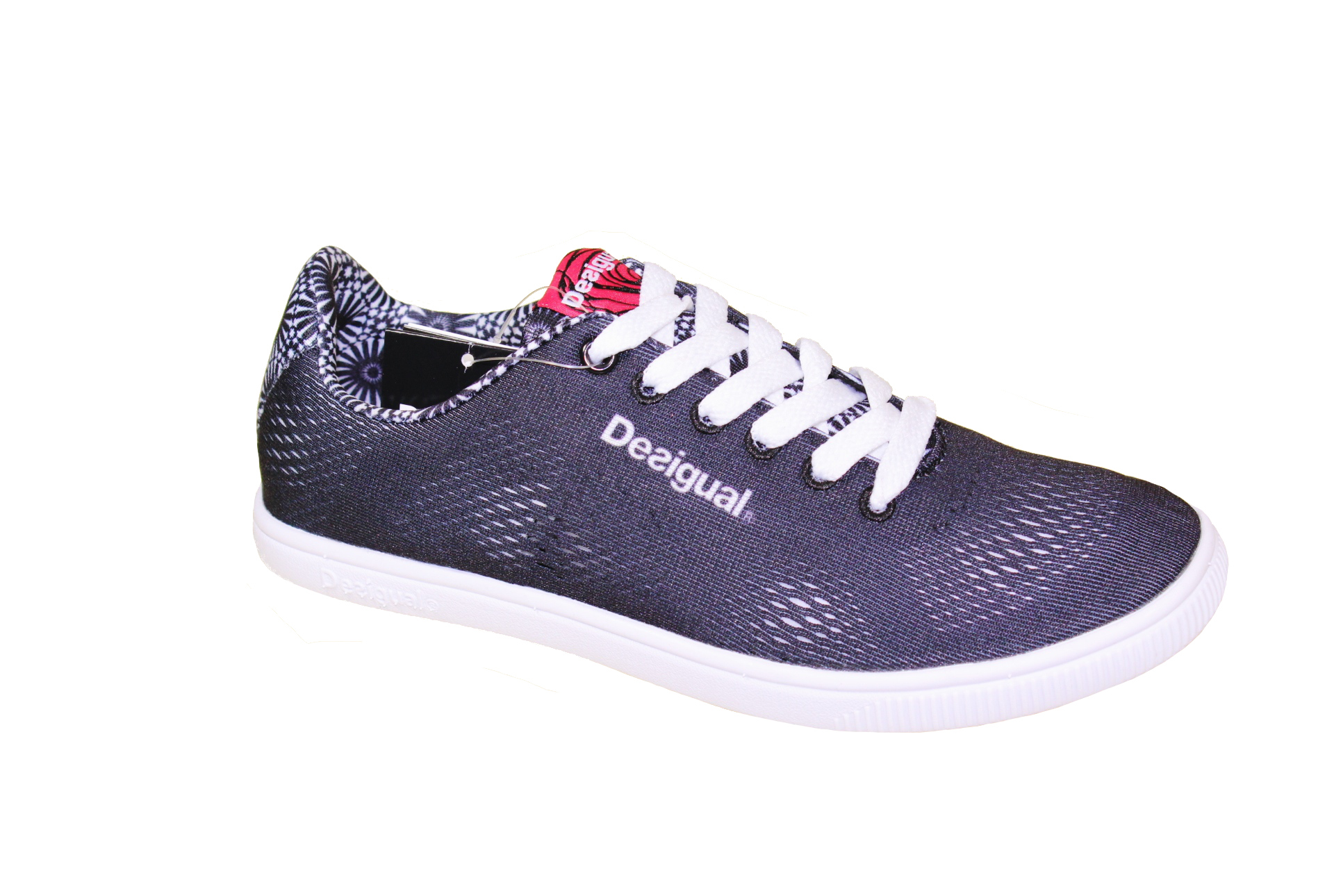 Desigual Lace about NEW des3 Low Details original Shoes Up