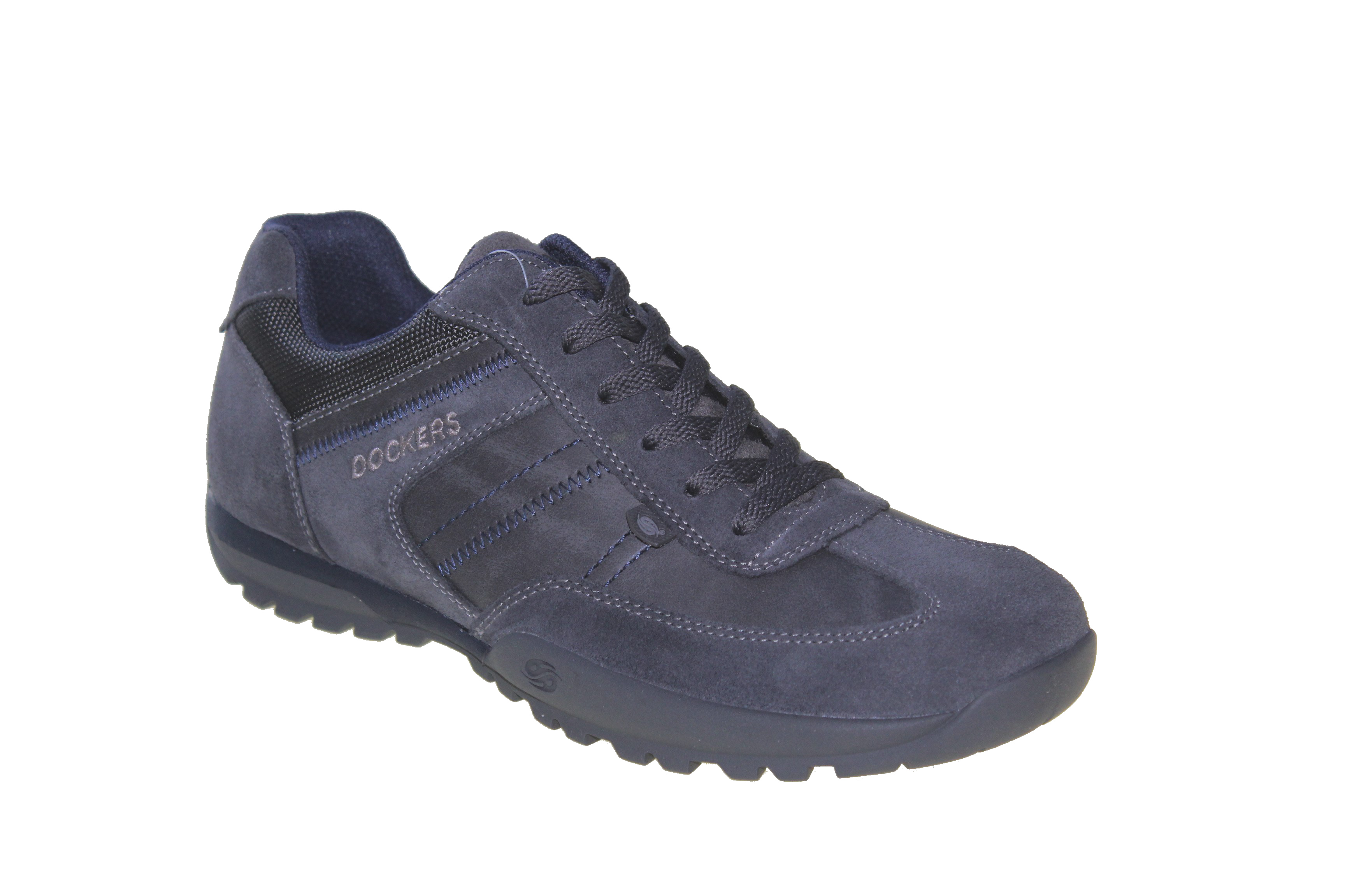 Details zu NEU Dockers 36HT004 206236 Herrenschuhe Sneaker Halbschuhe Leder Grau do23