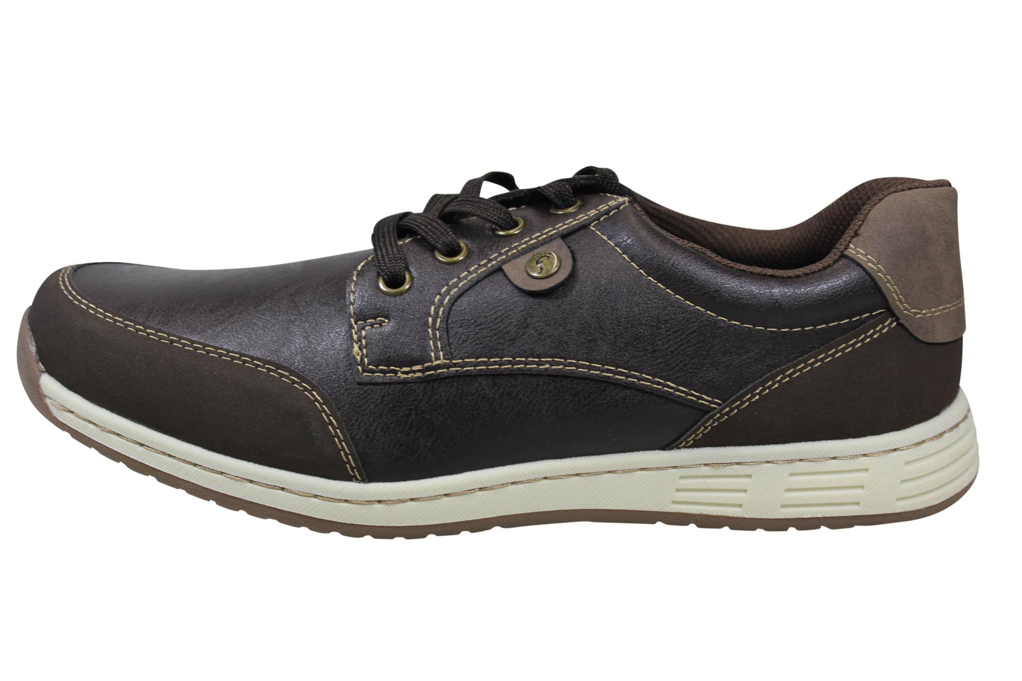 NEU footflexx LIVERGY® Herrenschuhe Sneaker Schnür-Halbschuhe grau Shoes kg21